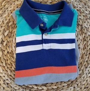 The Children's Place striped summer  polo shirt